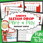 FREE Santa's Sleigh Drop - Math Activity for Subtraction