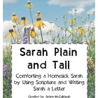 Sarah Plain and Tall- Comforting Homesick Sarah (letter writing)