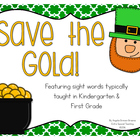 Save the Gold - A St. Patrick's Day Sight Word Game