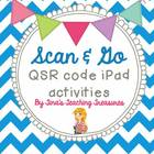 Scan and Go! QSR code iPad activity for kids!