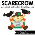 Scarecrow- Craft and Writing Templates