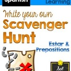 Scavenger Hunt: Estar, Prepositions (Spanish 1; Avancemos