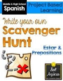 Scavenger Hunt: Estar, Prepositions (Beginning Spanish)