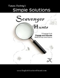 Scavenger Hunts to Engage and Educate Middle and High Scho