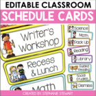Schedule It! (Bright Schedule Cards)
