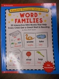 Scholastic Reading Success Mini Books-Word Families