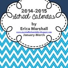 School Calendar 2015: January-March