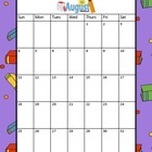 School Calendar - Holiday Backgrounds