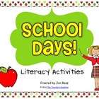 School Days Literacy Centers