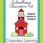 School Theme Classroom Kit