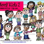 School Kids 2  Commercial Clip Art
