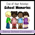 School Memories Activity- Savvy School Counselor