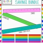 School Rulers Bundle Savings Clip Art Set