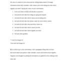 School Subject Role Play Outline for beginner Italian class