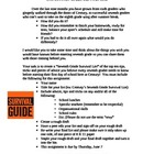 School Survival Guide Assignment