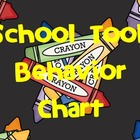 School Tools Behavior Management Posters