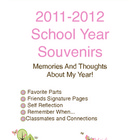 School Year Souvenirs Autograph Book