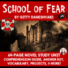 School of Fear Reading Comprehension Activity Guide