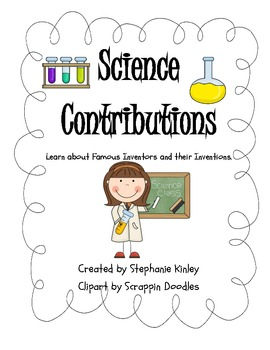 Science Contributions - Inflectional Endings/ Homophones