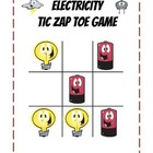 Electricity Science Partner Game Tic-Zap-Toe