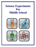 Science Experiments and Worksheets for Middle School