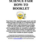 Science Fair How-To Booklet