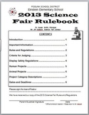 Science Fair Rulebook