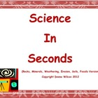 Science In Seconds:  Rocks, Soil, Minerals, and Fossil Dai