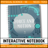 Science Interactive Notebook - Motion and Forces