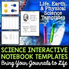 Science Interactive Notebook Templates - Sampler