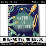 Science Interactive Notebook - The Nature of Science