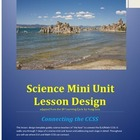 Science Lesson Design Guide Connecting the CCSS