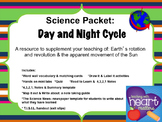 Science Packet: Day and Night cycle