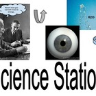 Literacy Center Sign: Science Station