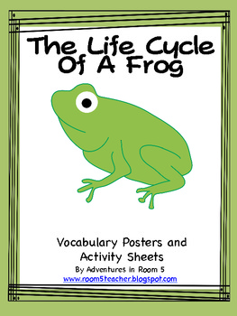 Science Vocabulary Posters-Life Cycle of a Frog