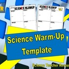 Science Warm-Up Template