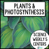 Science Weekly Five Stations- Plants
