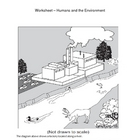 Science Worksheet - Human Impact on Environment (4 - 6)