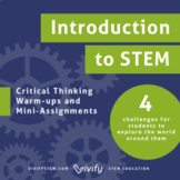 Introduction to STEM Critical Thinking & Projects (Science