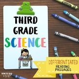 Science for the YEAR {Differentiated Reading Passages & Qu