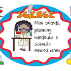Science miniboards, planning guide to follow scientific me