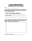 Scientific Method - Airplane Experiment - Student Lab Pack