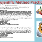Scientific Method Practice Veggie Tale Part 1