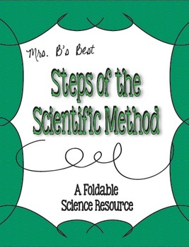 Scientific Method Steps Foldable