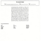 Scientific Method Wordsearch with Key