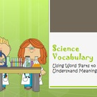 Scientific Vocabulary Activity