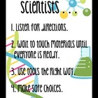 Scientist Rules Poster & Badges