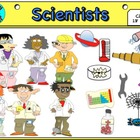 Scientists  (Clip Art)