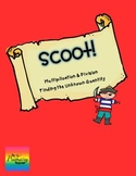 Scoot:  Determine Unknown in Multiplication & Division {ta
