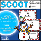 Scoot: Snowman Subtraction Game 11 to 20